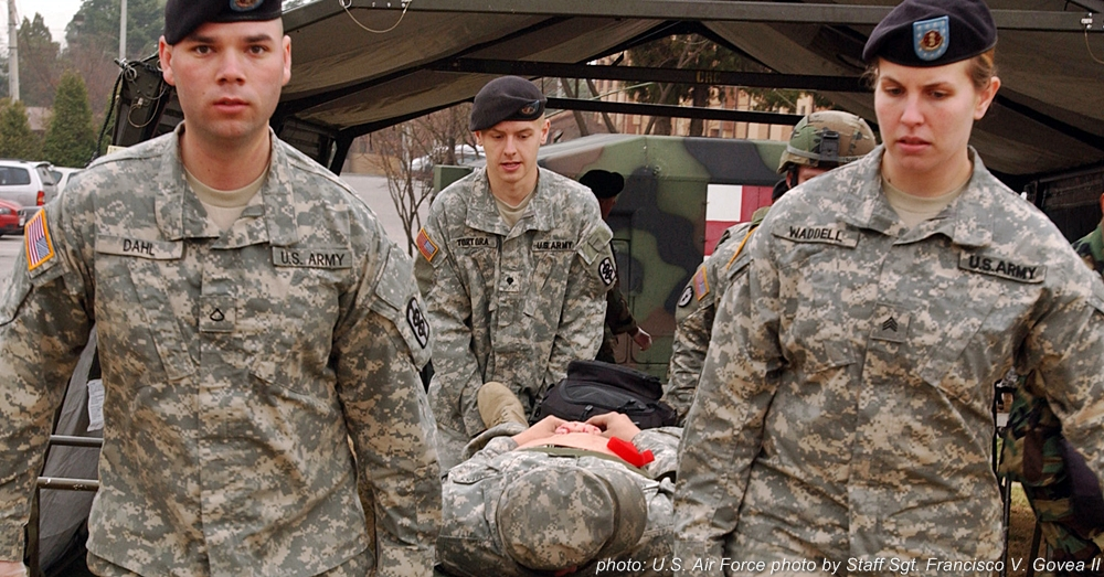 Field training, as depicted here by U.S. Army medics in South Korea, is an essential part of being prepared in the event of a mass casualty incident.