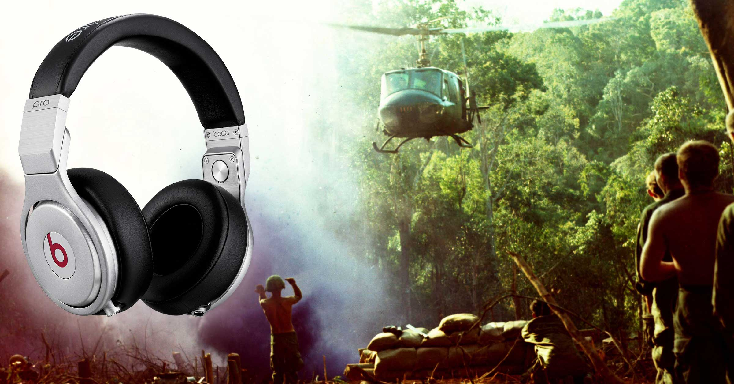 Beats by Dre Uses Vietnam War Footage in Background of Headphones TV Ad Spot