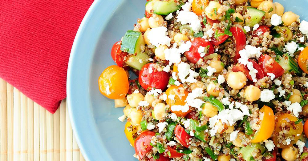 chickpea quinoa salad 2