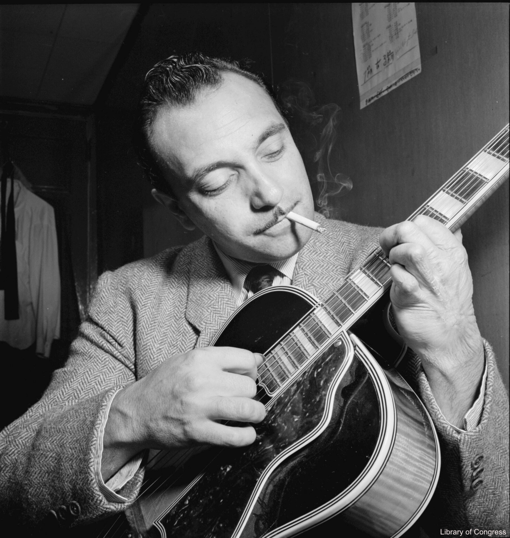 Django Rheinhardt Photographed by by William P. Gottlieb