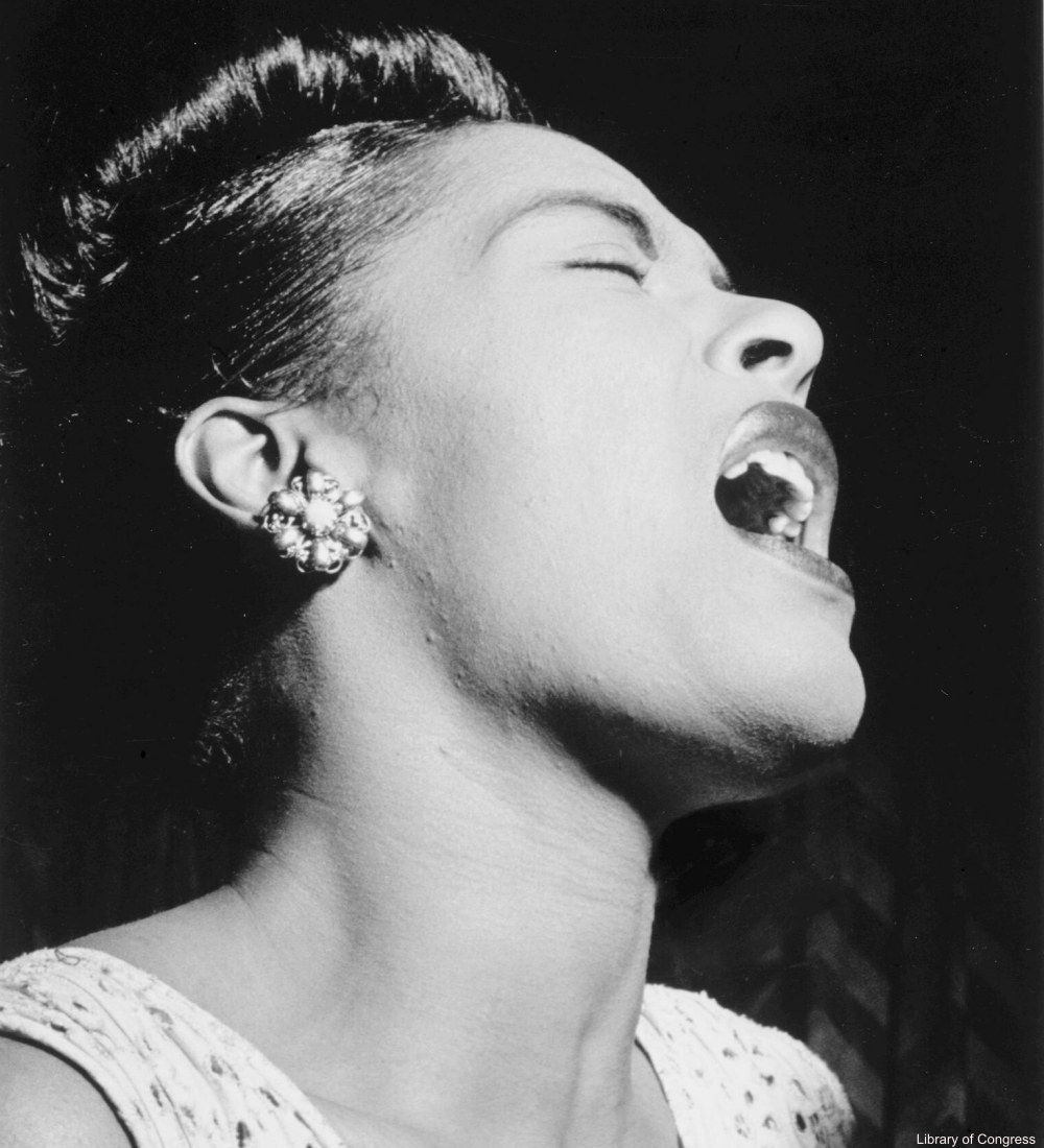 Billie Holiday Photographed by William P. Gottlieb