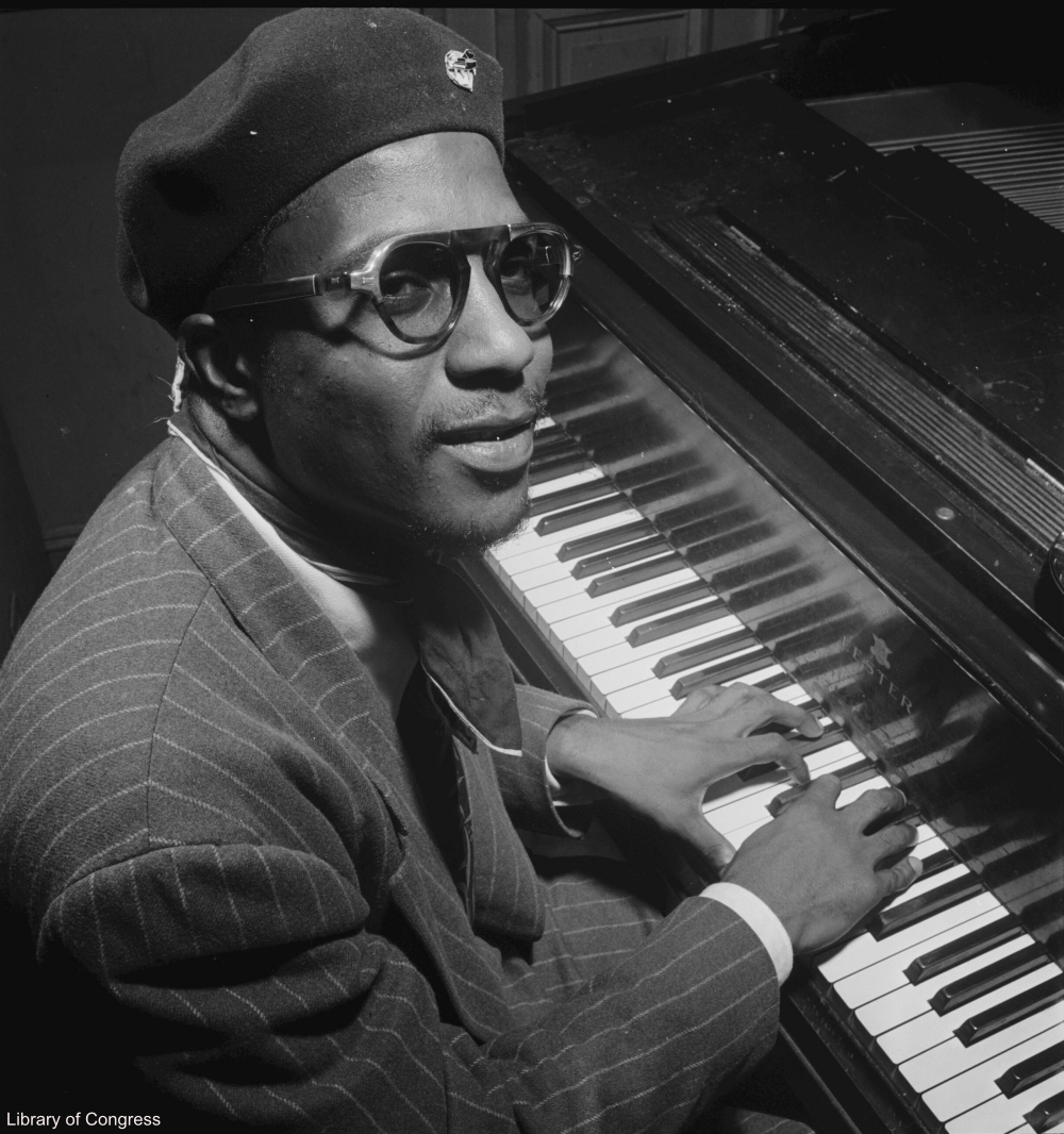 Thelonius Monk Photographed by William Gottlieb