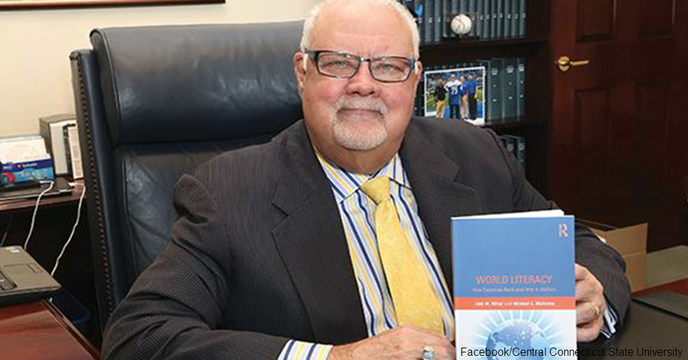 CCSU President Miller / Via Central Connecticut State University