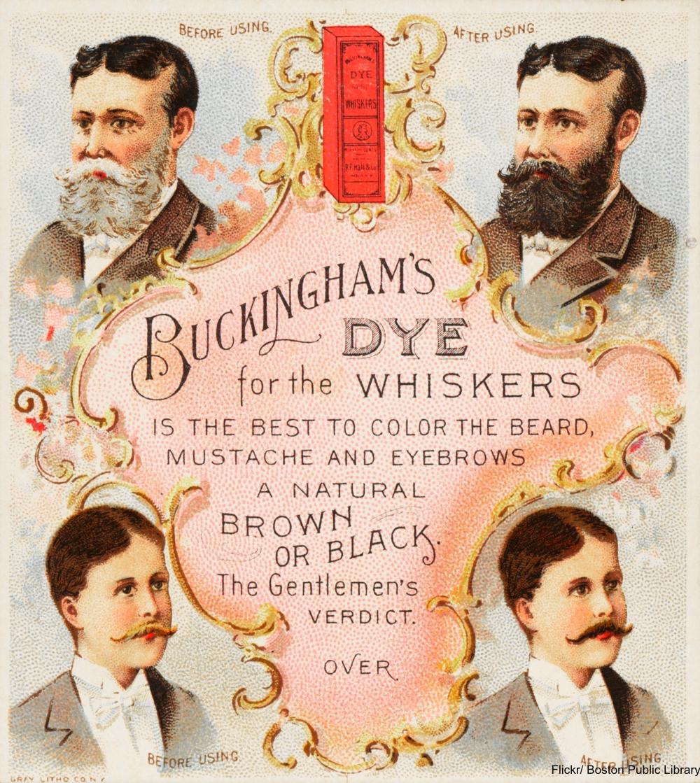 Buckingham's Whisker Dye