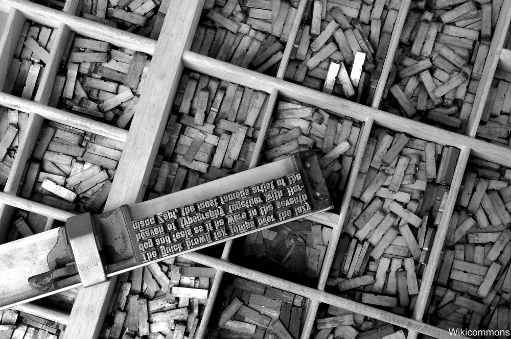 Typesetting Stick