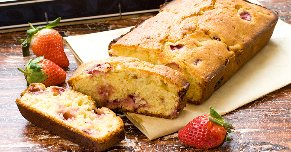 strawberry banana bread 1