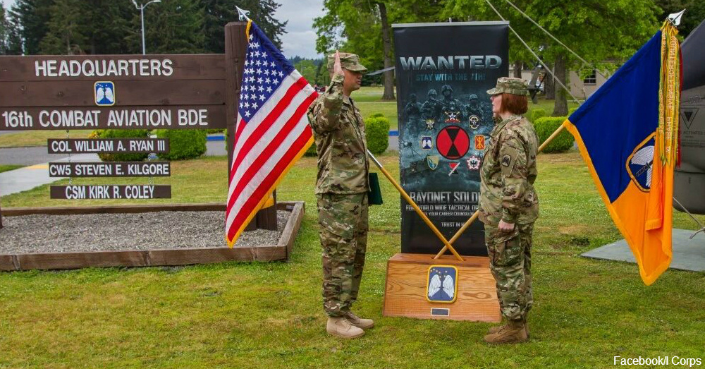 Sgt. Kayci Landes becomes first female to reenlist as 19D / Via 16 CAB