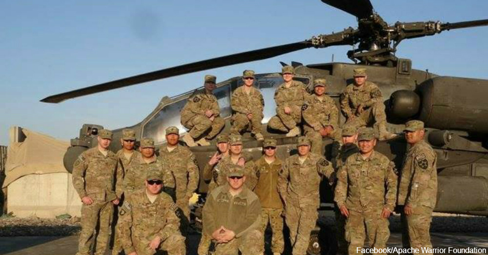 Wolfpack Maintenance, Delta Co. 1-2 ARB out of Fort Carson, Co., Tarin Kowt, AFG (2012) / Via Apache Warrior Foundation