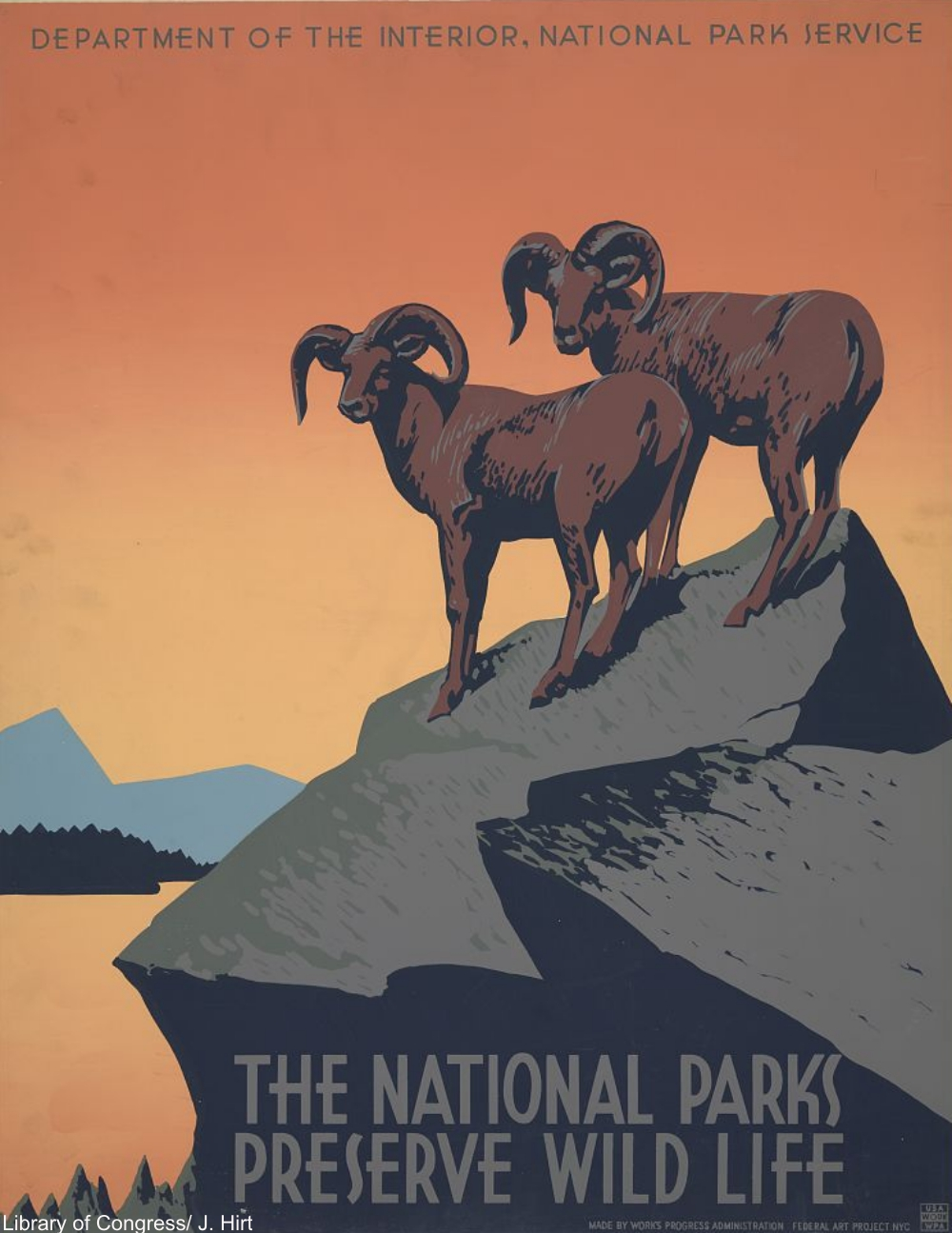 WPA Poster by J. Hirt