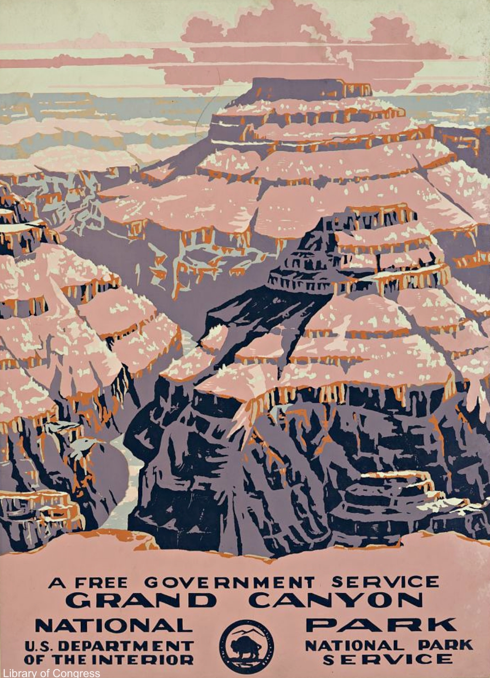 WPA National Parks Poster