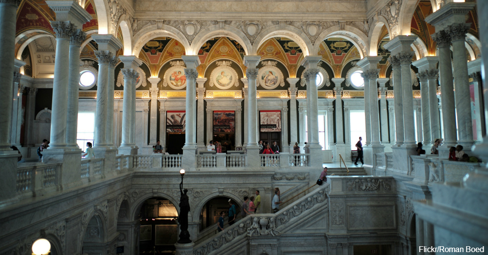 The Library Of Congress / Via Roman Boed