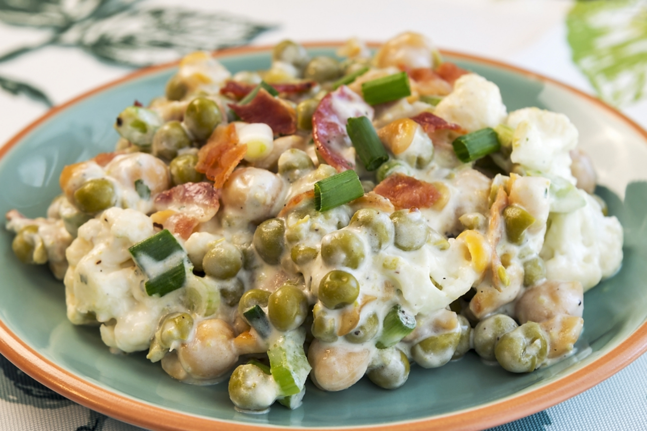This Creamy Salad Might Look Strange, But Knocks It Out Of The Park Every Time!