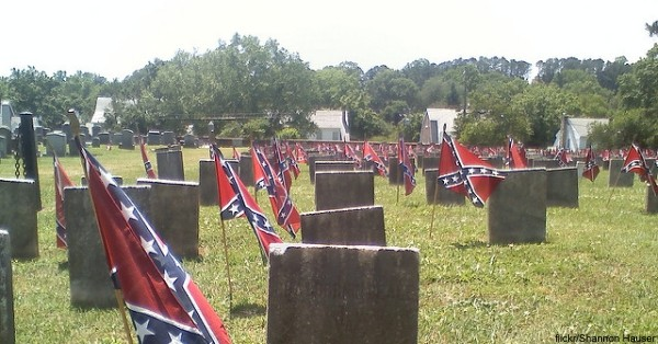Families may still place small Confederate flags on individual graves on Memorial Day and Confederate Memorial Day if the bill becomes a law.