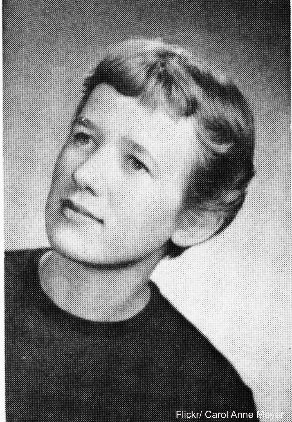 1955 Yearbook Pixie Haircut