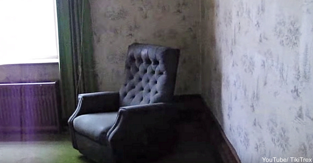 Living Room in Abandoned House