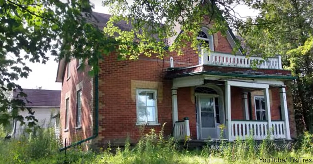 Exterior of Abandoned House