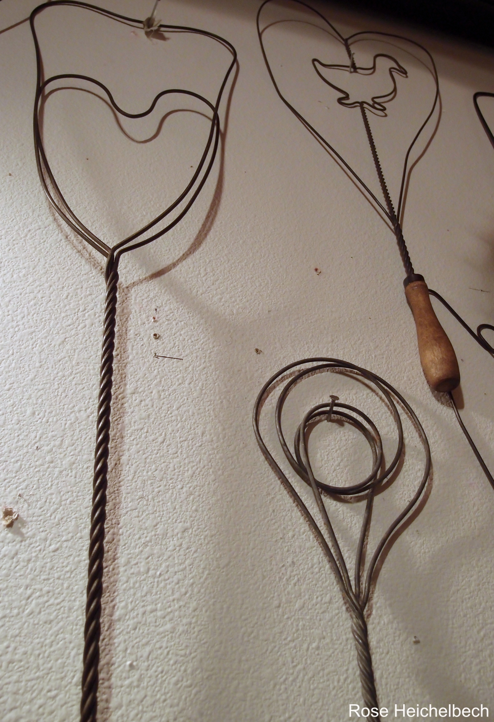 Old fashioned carpet beater 40