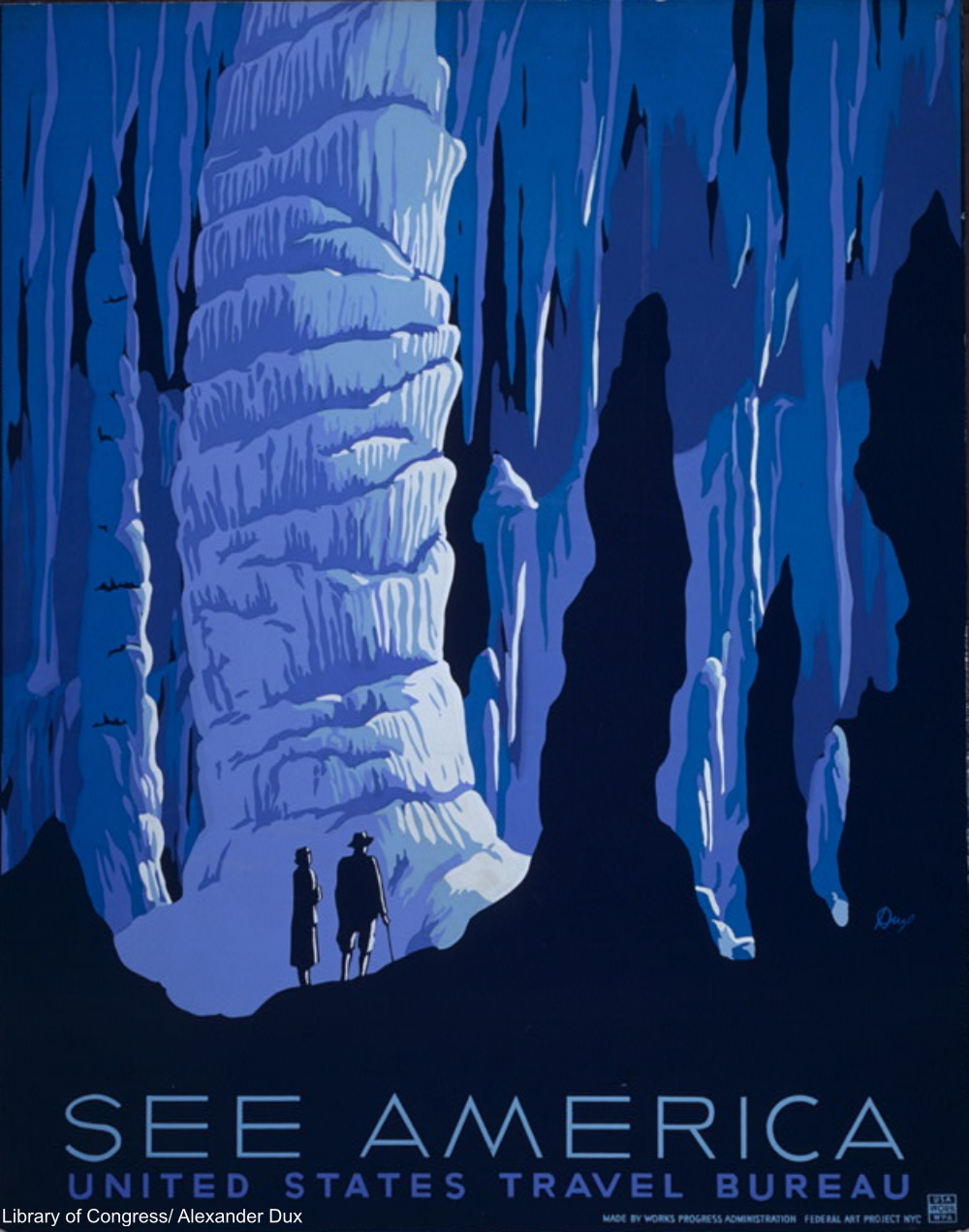 WPA Tourism Poster by Dux