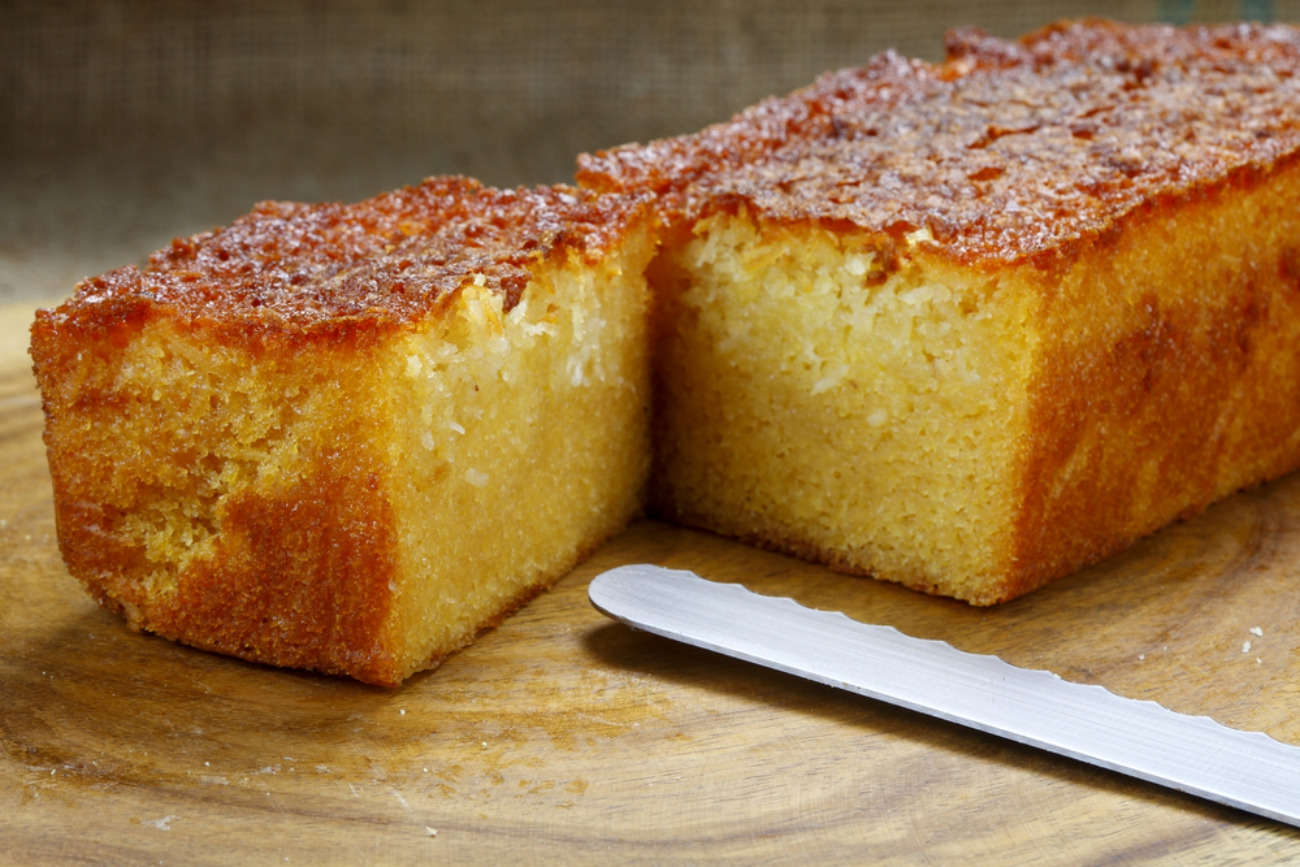 Cake With  Sticks Of Butter