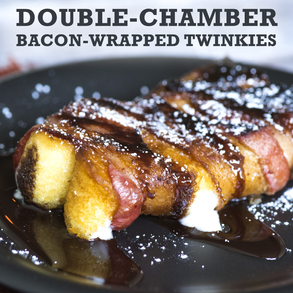 Double-Chamber Bacon-Wrapped Twinkies social 2