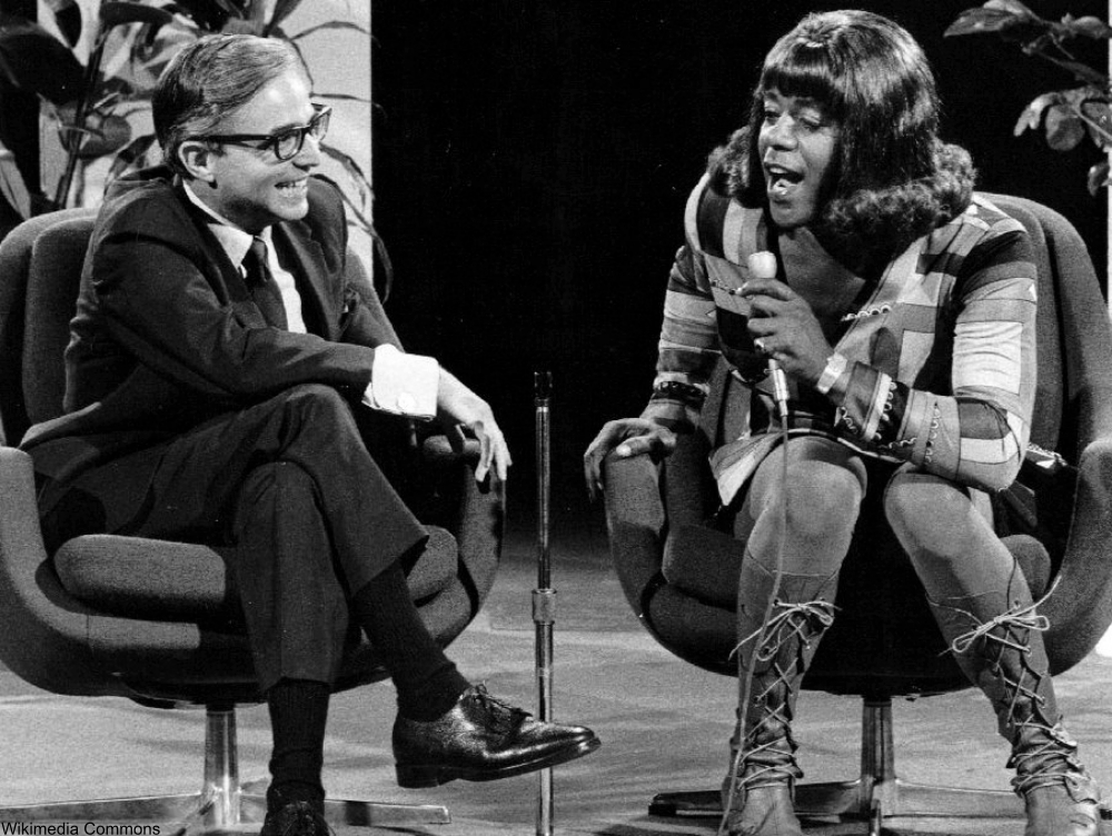 Flip Wilson and Dr. David Rueben