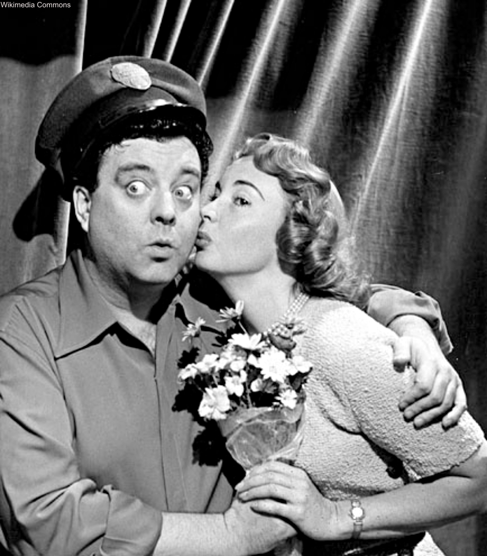 Jackie Gleason and Audrey Meadows