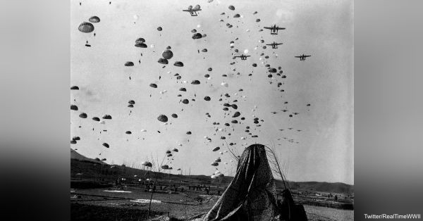 10000+ Allied paratroopers, dropped before landings, capture key bridges leading to beaches & sow chaos for Germans.