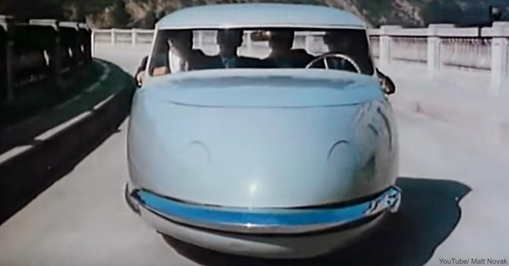 The Davis 3 Wheeler Concept Car