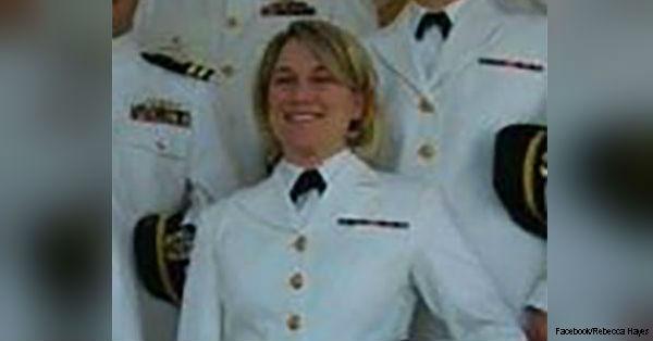 Rebecca Hayes is a veteran of the U.S. Navy.