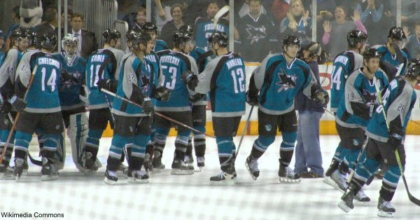 The Sharks lost game 4 of the finals.