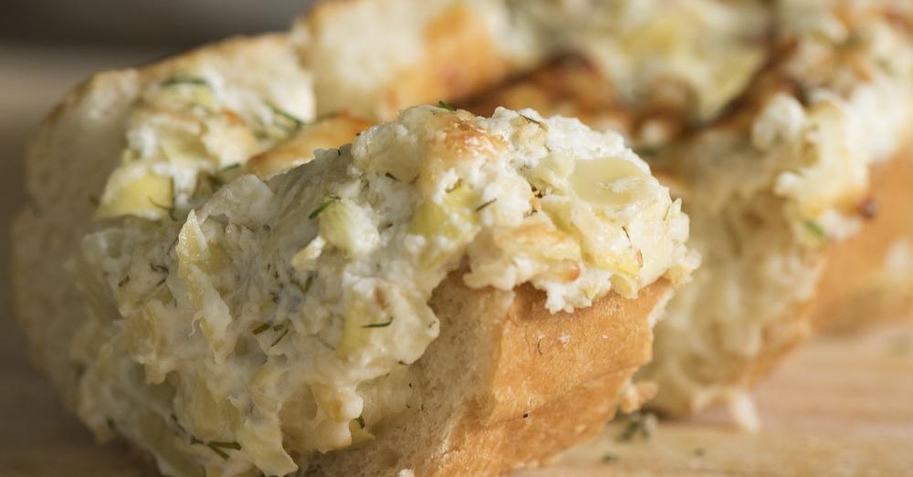 Stuffed Artichoke Bread – 12 Tomatoes