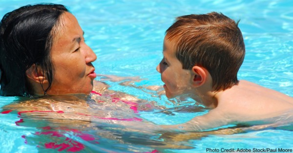 swimming lesson six