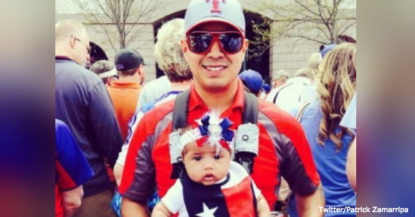 Patrick Zamarripa was one of the officers killed in the sniper attack in Dallas.