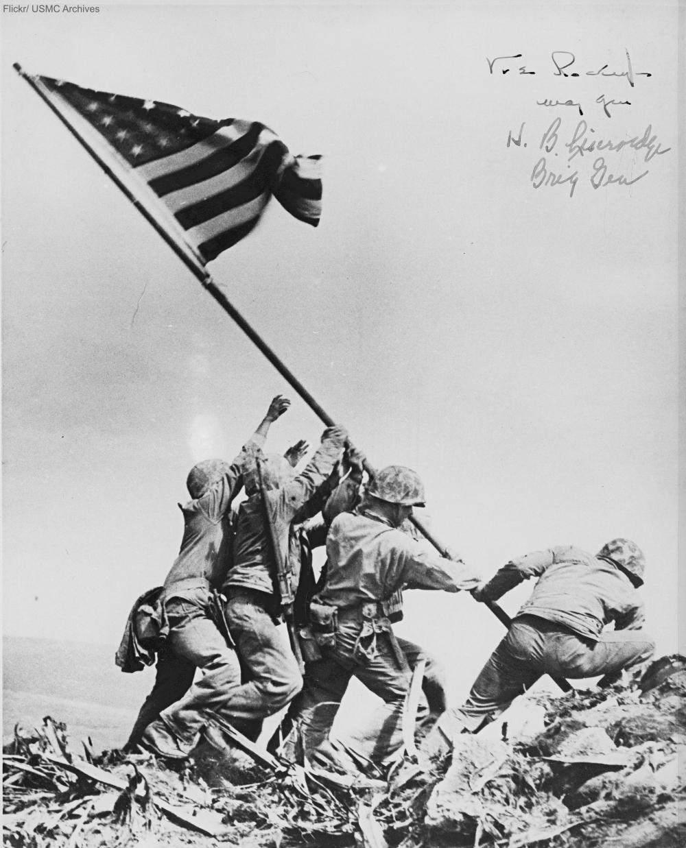 Flag Raising at Iwo Jima