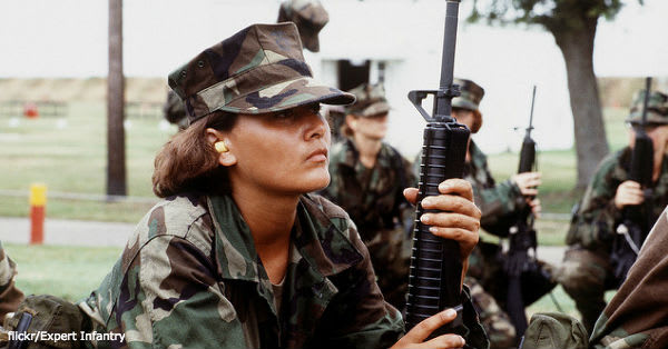 women-combat1 flickr:Expert Infantry