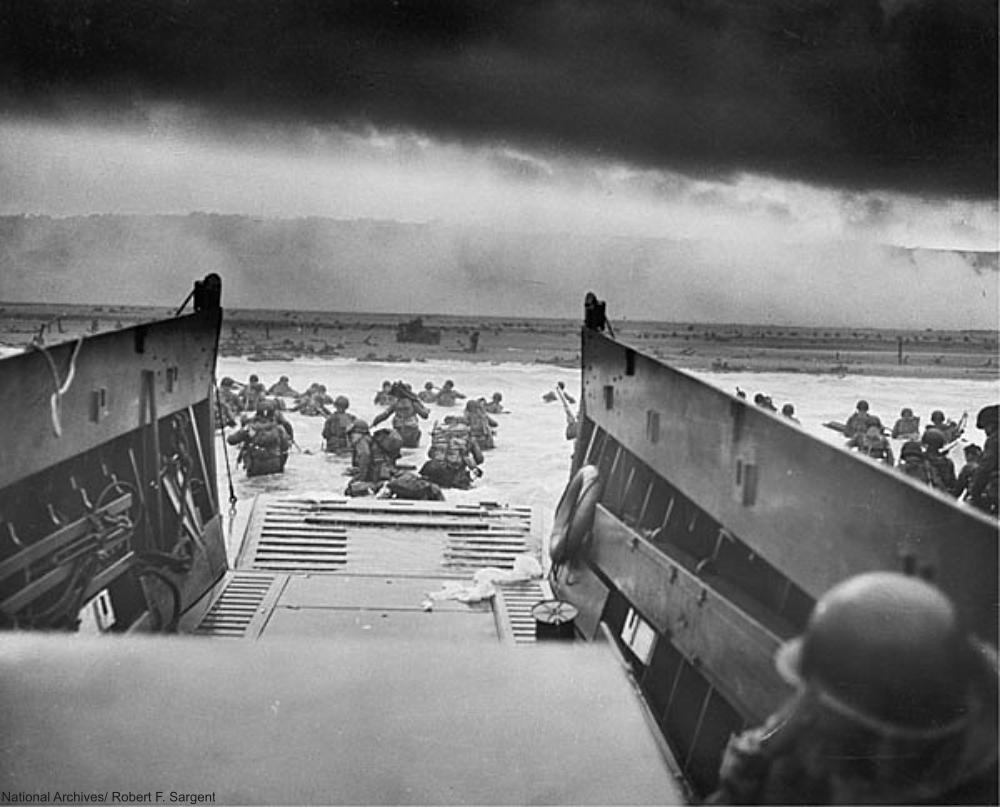 Omaha Beach June 6 1944 WWII