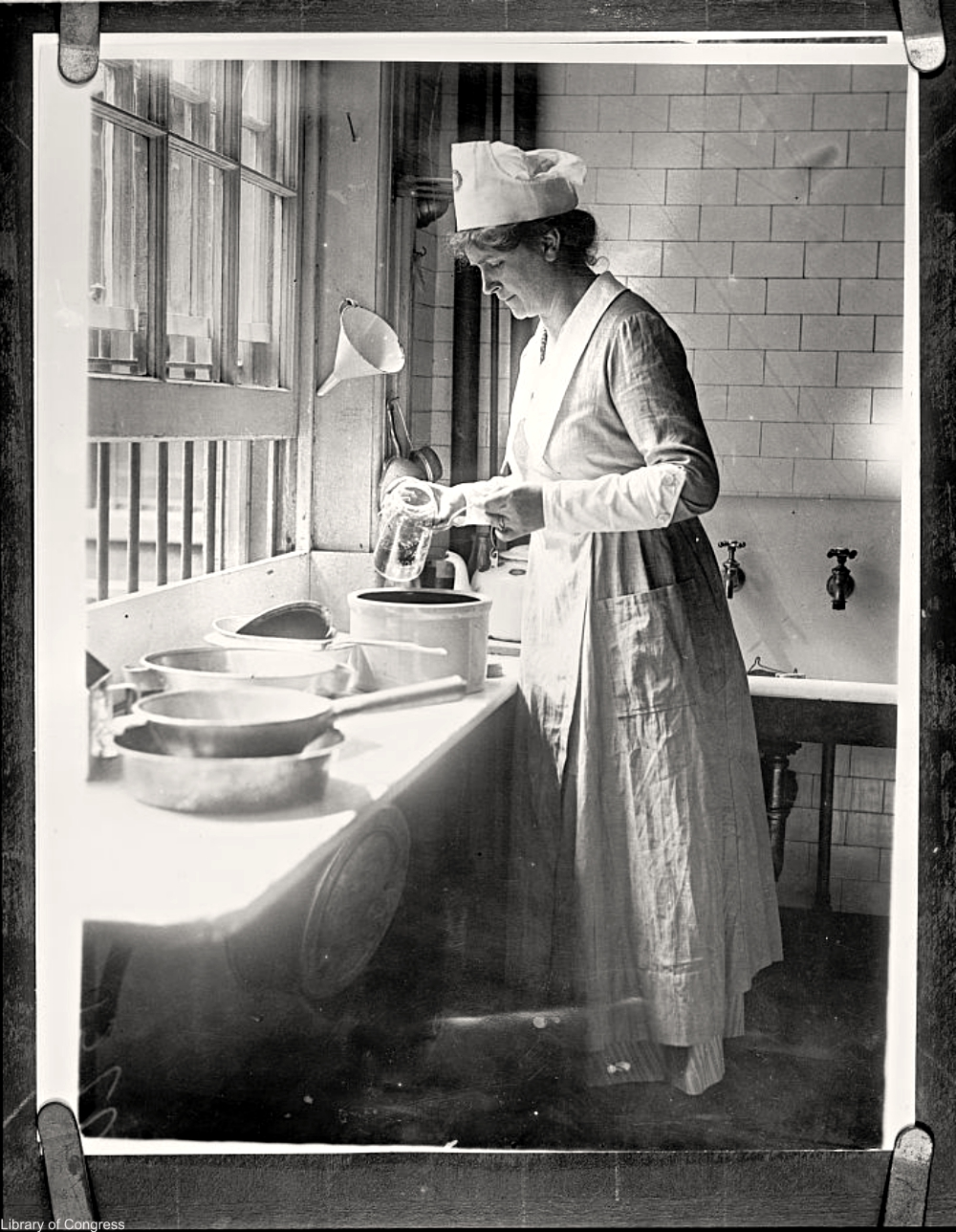 United States Food Administration worker WWI era