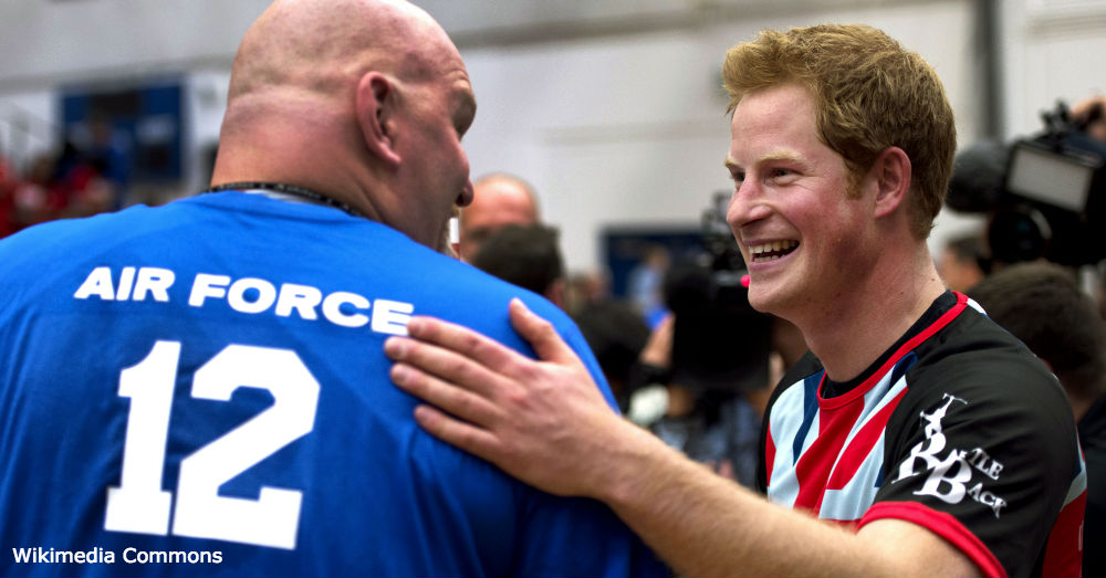 Prince Harry at the Warrior Games.