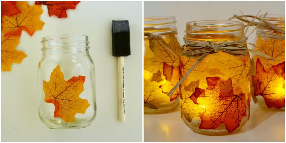 candle-leaf-mason-jar-fall-DIY-decor