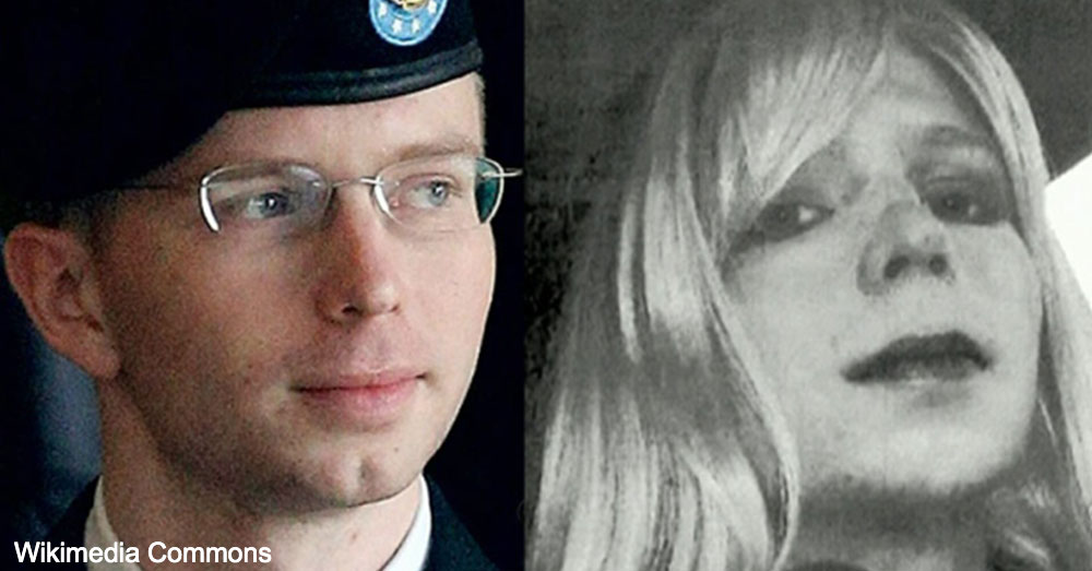 Bradley Manning received hormone replacement therapy and changed her name to Chelsea during the three years she spent at Fort Leavenworth.
