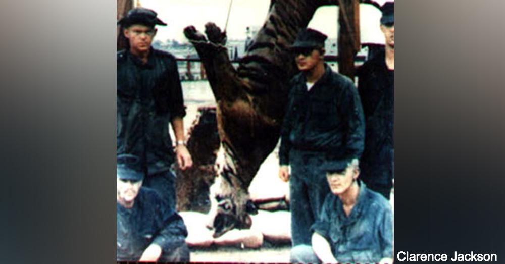 Standing, left to right: PFC Maurice Howell /CPL Jackie Blankenship (KIA 23 June '69), PFC Delbert Kelly. Kneeling, left to right: PFC Thomas Shainline, PFC Roy Ragen.