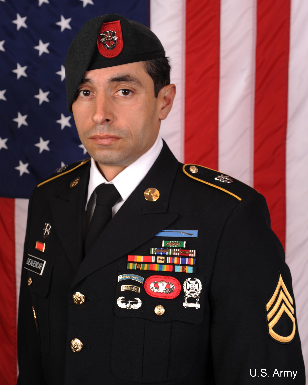 Staff Sgt. Mark De Alencar