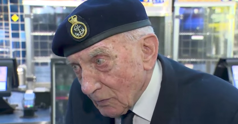 Photo: YouTube/Global News -- WWII veteran and Battle of Dunkirk survivor shares his thoughts on the new war film.