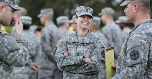 Source: U.S. Army Women and men serve together in the U.S. Army, but transgender soldiers are now prohibited.