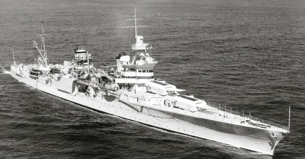 Source: Wikimedia Commons The USS Indianapolis