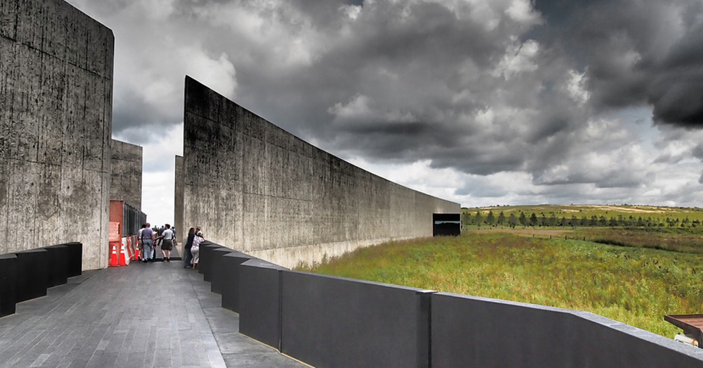 Photo: Pixabay/ahundt -- This memorial is built on the site where Flight 93 went down in Shanksville, PA.