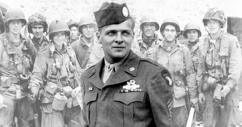 Photos: U.S Army -- Donald Malarkey, a WWII paratrooper with the 101st Airborne, passed away at the age of 96.