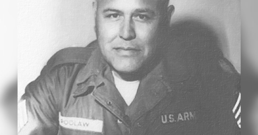 Source: American Indians Veterans Memorial 1st Sgt. Pascal Cleatus Poolow, Sr.
