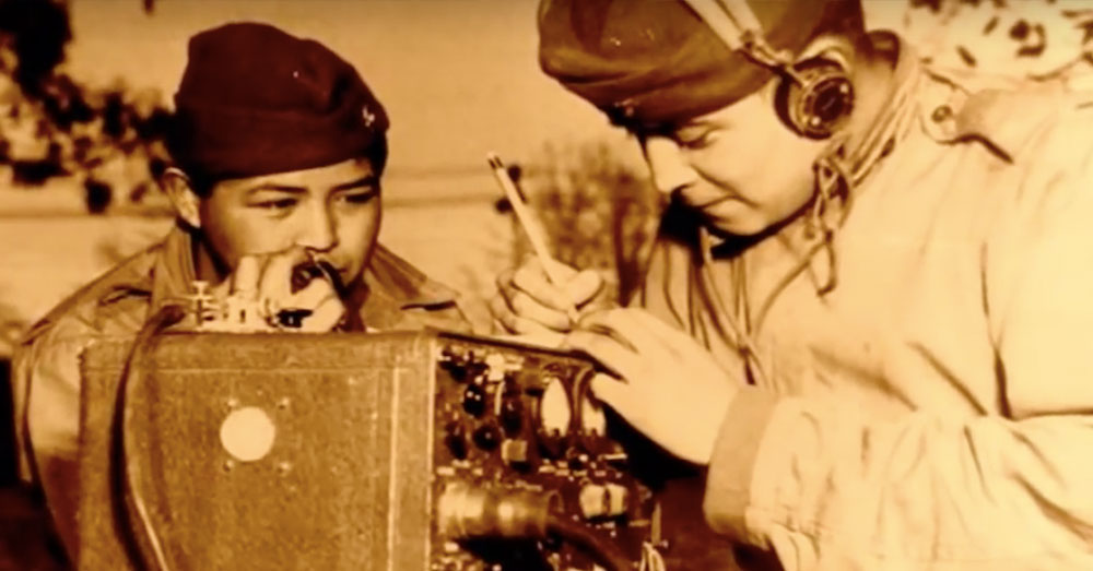 Source: YouTube/americanlegionHQ Navajo Code Talkers