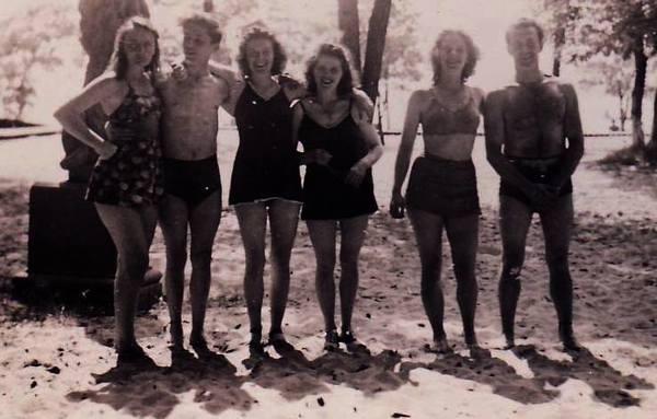swimsuit vintage photo